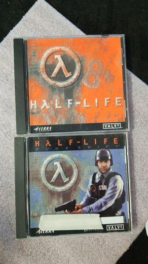 Half Life Vintage PC games Old School for Sale in Escondido, CA