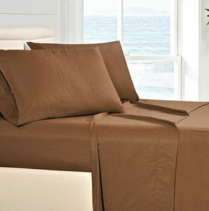 Firm Price! Brand New in a Package 1800 Thread Count FULL Bed Sheet Set - Brushed Microfiber, Located in North Park for Pick Up or Shipping Only! for Sale in San Diego, CA