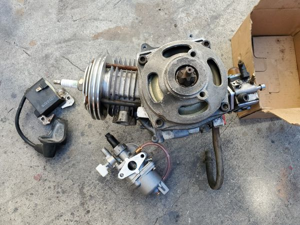Performance 49cc motor