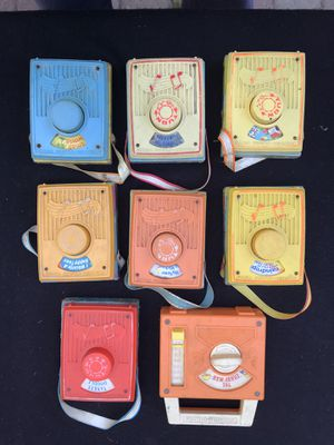 Fisher Price vintage music boxes for Sale in Newfoundland, NJ