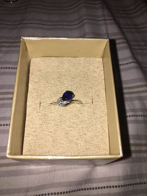 10kt solid gold and sapphire diamond ring 70$ firm for Sale in Elk Grove, CA