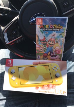 New Nintendo switch with wrapped Mario game for Sale in Sunnyvale, CA