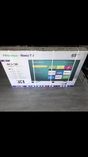 65 INCH HISENSE ROKU 4K SMART TV for Sale in Chino Hills, CA