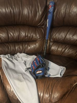 Baseball bat and glove for Sale in Tampa, FL