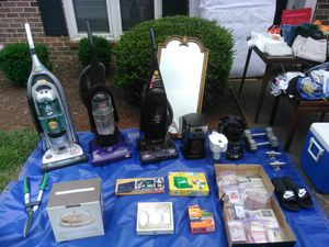 Yard sale picture. All kinds of goodies must go asap message me about details, will let go for cheap im moving in less than a week for Sale in Knoxville, TN
