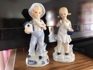 Cute Vintage Little Boy Girl Figurines for Sale in Vienna, MO
