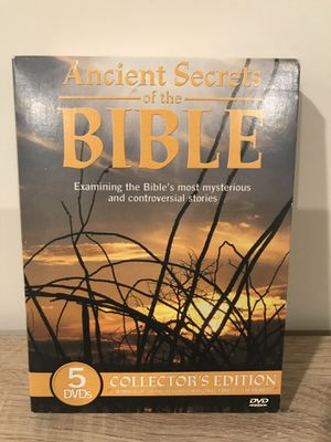 Ancient secrets of the Bible DVD series for Sale in Dulles, VA