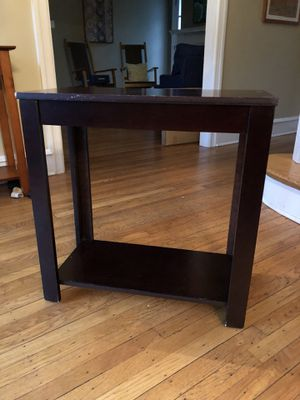 Small Table (Dark Brown) for Sale in Haverford, PA