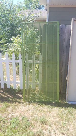 steel security door eaten green for Sale in Aurora, CO