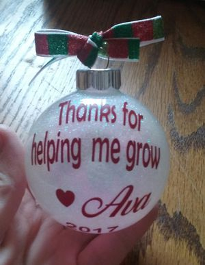 Ornaments for that special teacher for Sale in NC, US
