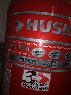 Husky air compressor for Sale in Salem, MA