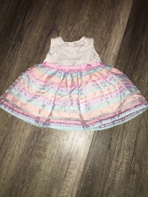 Adorable Easter dress and old navy shoes and flower sandals - all size 3-6 months for Sale in Phoenix, AZ