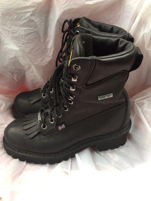 Gore Tex work Boots sz men's 8.5 women's 10 run small for Sale in Pennsauken Township, NJ