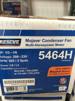Condenser and Evap fan motors (NEW) for Sale in Payson, AZ