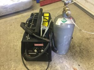 Craftsman Sears Mig Welder with Argon Tank for Sale in Vancouver, WA