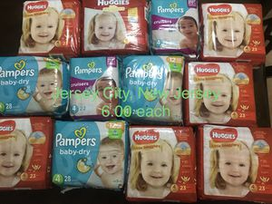 Pampers for Sale in Bayonne, NJ