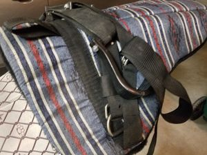 Bareback riding saddle blanket with stirrups for Sale in Kountze, TX