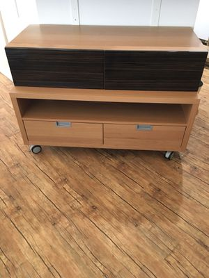 IKEA two piece stacked four drawer set for Sale in Milwaukie, OR
