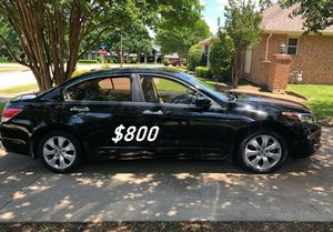 $8OO URGENT I sell my family car 2OO9 Honda Accord Sedan Super cute and clean in and out must. for Sale in Wichita, KS