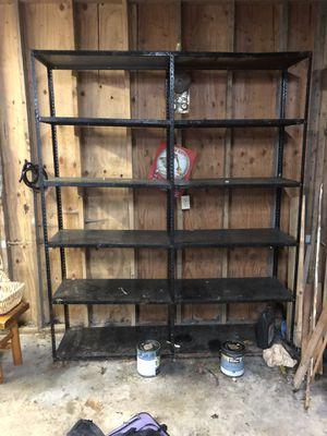 Metal Garage Shop Shelving Shelves for Sale in Gig Harbor, WA