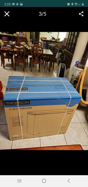 CHEST FREEZER 7.0 BRAND NEW IN SEAL BOX for Sale in El Paso, TX
