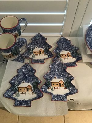 Vintage Cooks Bazaar Christmas Holiday Collection for Sale in Rancho Cucamonga, CA