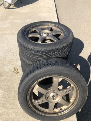 Volk TE37 rims for Sale in Clackamas, OR