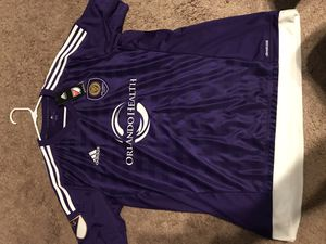 Adidas/Orlando City jersey (mens L) for Sale in Poinciana, FL