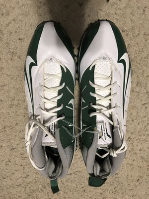 Men's Size 17 Green and White Nike Shoes New for Sale in Sanger, CA