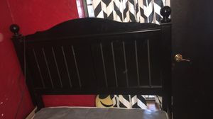 Bed Frame and Head Board for Sale in Oklahoma City, OK