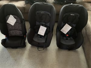 2 car seats and one booster seat evenflo for Sale in Virginia Beach, VA