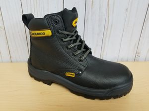 Black Men's LEATHER Work Boots!!!! for Sale in Hialeah, FL