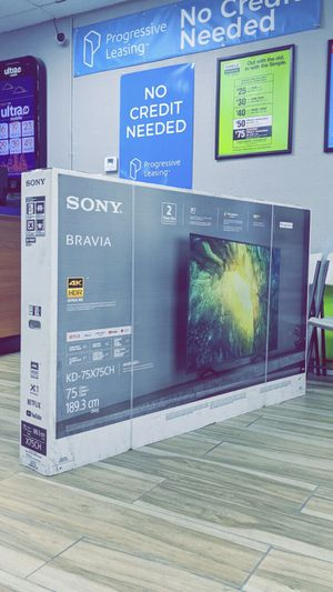SONY 75-inch Class X75CH-Series 4K Ultra HD HDR LED TV - KD75X75CH! ($50 DOWN) TAKE IT HOME TODAY!! BRAND NEW IN BOX! for Sale in Arlington, TX