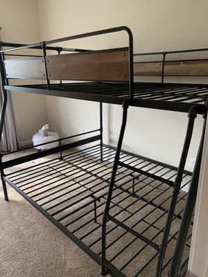 Full over queen bunk bed for Sale in Buffalo, NY