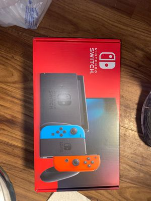 Brand new never used Nintendo switch and iPhone 7 for Sale in Temple Hills, MD