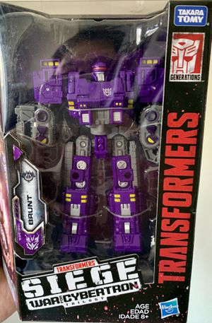 Transformers Siege War for Cybertron Brunt Deluxe Class Figure for Sale in Fresno, CA