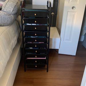 Storage Black 10 Drawers for Sale in Miami, FL
