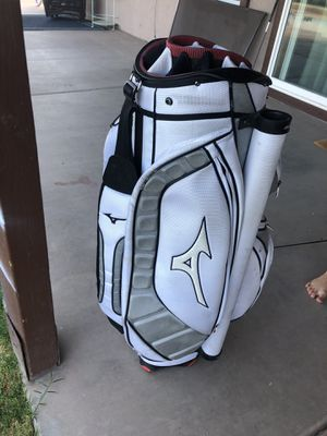 Mizuno Cart bag overall 8/10. for Sale in Gilbert, AZ