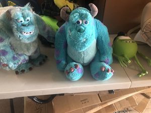 Monster inc toys/ stuffed animals for Sale in Portsmouth, VA