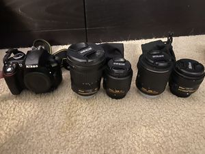 Nikon Camera, lenses, and gear! for Sale in Tampa, FL