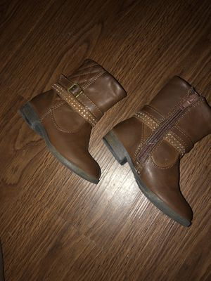 Brown Toddler Girls Boots Size 7c for Sale in Boston, MA