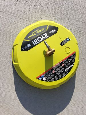 """RYOBI 15"""" SURFACE CLEANER FOR USE WITH PRESSURE WASHER for Sale in Riverside, CA"""