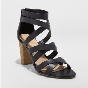 NEW Miranda Black Ankle Strap Sandals for Sale in Brooklyn, NY