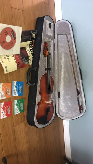 Ebony Orchestra Student Violin w/ Stand for Sale in Gresham, OR