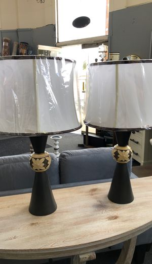 Brand new set/2 lamps for Sale in Oakley, CA