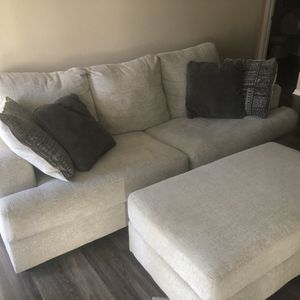 Couch And Large Ottoman for Sale in Denver, CO