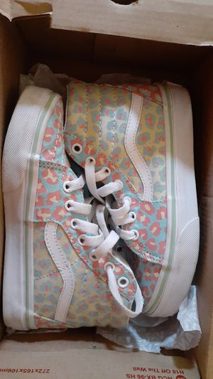 Vans sneakers kids size 13 for Sale in Syracuse, NY