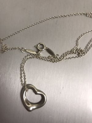 Tiffany & Co heart pendant for Sale in Tempe, AZ