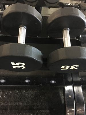 Dumbbell 35lb set for Sale in Chicago, IL