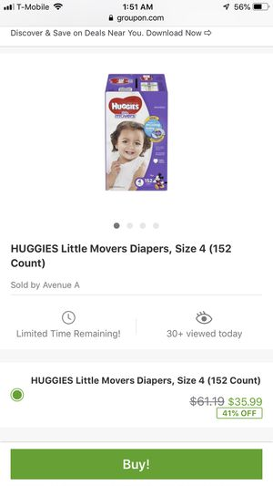Huggies Size 4 Brand New for Sale in Gaithersburg, MD